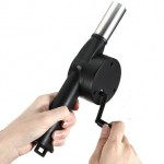 Χειροκίνητος Φυσητήρας - Ανεμιστήρας για Άναμα Φωτιάς σε Μπάρμπεκιου - Ψησταριά - Τζάκι