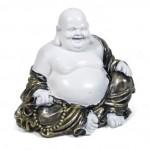 Καθιστός Χαμογελαστός Βούδας Χαράς, Αφθονίας και Ευημερίας 20cm