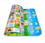 Μεγάλο Παιδικό Μαλακό Ισοθερμικό Χαλάκι/Ταπέτο Δραστηριοτήτων Διπλής Όψης Playmat 2,00x1,80μ