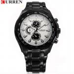 Ανδρικό Ρολόι CURREN Μ8023 Black & White