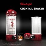 Διανομέας Ποτού σε Σχήμα Αγγλικού Τηλεφωνικού Θαλάμου - Cocktail Shaker