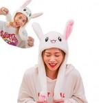 Καπέλο Λαγός που Κουνάει τα Αυτιά του - Cozy Bunny Ears Hoodie
