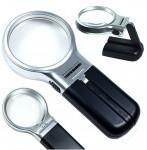 Αναδιπλούμενος Μεγεθυντικός Φακός LED - Magnifier 3 in 1