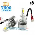 Φώτα Αυτοκινήτου LED COB Η1 8000Κ 72W (2x36W) 7600LM (2x3800LM) CAN BUS
