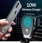 Ασύρματος Φορτιστής - Βάση Φόρτισης & Στήριξης Κινητού για Αυτοκίνητο - Wireless Car Charger