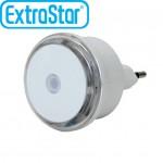 Φωτάκι Νυκτός LED Με Αισθητήρα Φωτός Χαμηλής Κατανάλωσης Extrastar