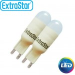 Λαμπτήρας LED ExtraStar 2,5W G9 με Θερμό Φως