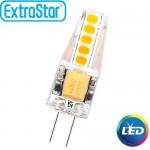 Λαμπτήρας LED ExtraStar 1,8W G4 με Θερμό Φως