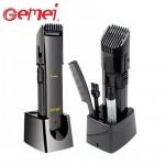 Σετ Ξυρίσματος - Κιτ Επαναφορτιζόμενη Ηλεκτρική Κουρευτική - Ξυριστική Μηχανή - Pro GEMEI Hair & Beard Trimmer
