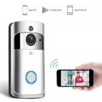 Wifi Κουδούνι Πόρτας 1080p Full HD Κάμερα - Video Δικτυακό Doorbell Two-way Audio EKN-V5-SL