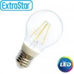 Λαμπτήρας LED ExtraStar 6W E27 με Ψυχρό Φως