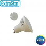 Λαμπτήρας LED ExtraStar 3,8W GU10 με Ψυχρό Φως