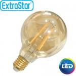 Λαμπτήρας LED ExtraStar 4W E27 με Θερμό Φως