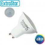 Λαμπτήρας LED ExtraStar 3,4W GU10 με Θερμό Φως