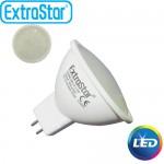 Λαμπτήρας LED ExtraStar 3,8W MR16 με Θερμό Φως