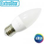 Λαμπτήρας LED ExtraStar C37 3,5W E27 με Φυσικό Φως