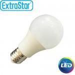 Λαμπτήρας LED ExtraStar B60 9W E27 με Θερμό Φως