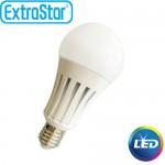 Λαμπτήρας LED ExtraStar 18W E27 με Θερμό Φως