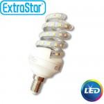 Λαμπτήρας LED ExtraStar 11W E14 με Ψυχρό Φως