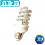 Λαμπτήρας LED ExtraStar 8W E27 με Θερμό Φως