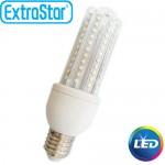 Λαμπτήρας LED ExtraStar 12W E27 με Ψυχρό Φως