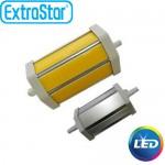 Λαμπτήρας LED ExtraStar 10W R7S με Θερμό Φως