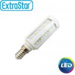 Λαμπτήρας LED ExtraStar 5,5W E14 με Ψυχρό Φως