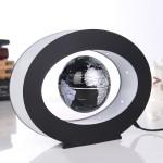 Μαγνητική Αιωρούμενη Περιστρεφόμενη Υδρόγειος Σφαίρα - Oval Magnetic Levitation Globe