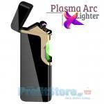 Αντιανεμικός X Arc Αναπτήρας Διπλής Ακτίνας με Υπέρυθρο Laser Ενεργοποίησης - Double Plasma Arc Lighter USB