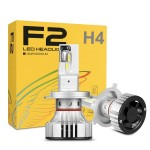 Φώτα 12.000LM Αυτοκινήτου CREE LED Kit H4 - 6500Κ - 72W - CAN BUS (2x6000lm)