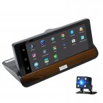 Διπλή Κάμερα Αυτοκινήτου με Οθόνη 7'' Bluetooth Gps και Σύστημα Android