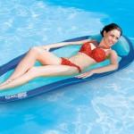 Αναδιπλούμενο Στρώμα - Πολυθρόνα με Δίχτυ Θαλάσσης - Πισίνας - Floating Bed Swimways