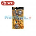 Συρματόβουρτσες Δραπάνου - Χειρός Liyset Σετ 3 Τεμαχίων