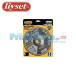 Δίσκοι Κοπής Μετάλλου Liyset Σετ 4 Τεμαχίων 125x2x22mm