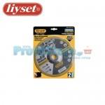 Δίσκοι Κοπής Μετάλλου Liyset Σετ 2 Τεμαχίων 125x3x22mm