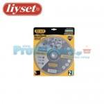 Δίσκοι Κοπής Μετάλλου Liyset Σετ 2 Τεμαχίων 230x2x22mm