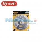 Δίσκοι Κοπής Μετάλλου Liyset Σετ 2 Τεμαχίων 230x3x22mm