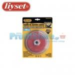 Συρματόβουρτσα Τροχού με Σχήμα Καμπάνας Liyset 150mm