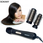 Επαγγελματική Περιστρεφόμενη Ηλεκτρική Βούρτσα για Μπούκλες και Φορμάρισμα Μαλλιών - SOKANY Rotating Hair Brush