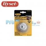 Συρματόβουρτσα Καμπάνα για Δράπανο με Αξονάκι Liyset 50mm