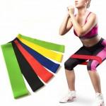 Σετ με Λάστιχα Γυμναστικής 5 Επιπέδων - Latex Band 5 Levels