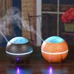 Αρωματοθεραπεία - Υγραντήρας Υπέρηχων για Καθαρισμό Αέρα & LED Φωτιστικό - Lights & Shadow Aroma Diffuser