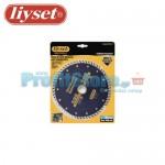 Διαμαντόδισκος Κοπής Δομικών Υλικών Liyset 180mm