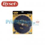 Διαμαντόδισκος Κοπής Δομικών Υλικών με Εγκοπές Liyset 230mm