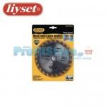 Δίσκος Κοπής Ξύλου με Καρφιά για Δισκοπρίονο Liyset 160mm και 24 Δόντια
