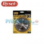 Δίσκος Κοπής Ξύλου με Καρφιά για Δισκοπρίονο Liyset 115mm και 24 Δόντια