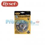 Δίσκοι Κοπής Μετάλλου Liyset Σετ 3 Τεμαχίων 100x2x16mm