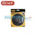 Βάση Γωνιακού Τροχού και Δράπανου για Γυαλόχαρτα Velcro Liyset 125mm