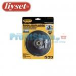 Βάση Γωνιακού Τροχού και Δράπανου για Γυαλόχαρτα Velcro Liyset 150mm