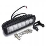 Προβολέας Αυτοκινήτου 18W με 6 LED
